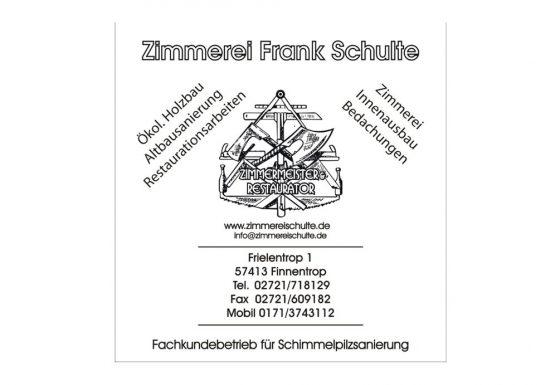 Zimmerei Frank Schulte