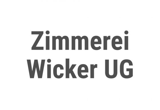 Zimmerei Wicker UG